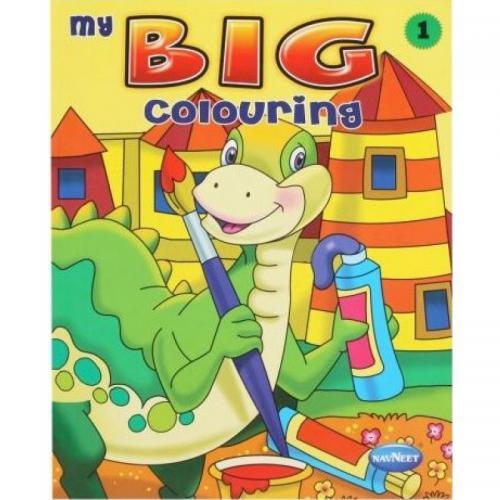 My Big Colouring Book (4 Varieties)