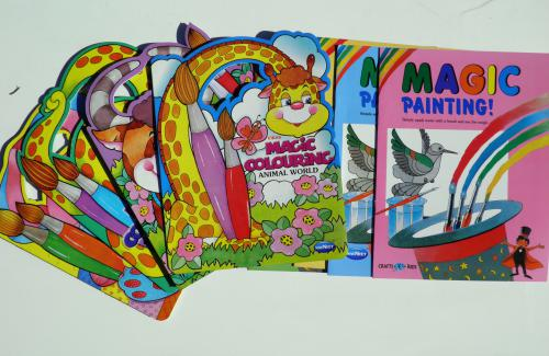 Magic Painting Books (8 in the series)