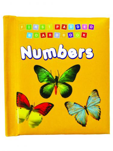 First Padded Board Book Numbers (2+)