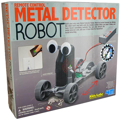 Metal Detector Robot (8+ years)