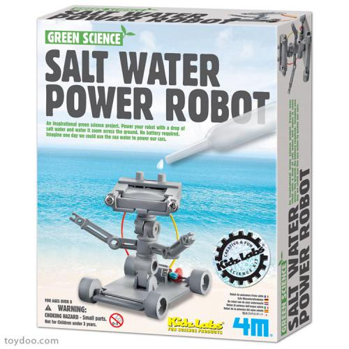 Salt Powered Robot (8+ years)