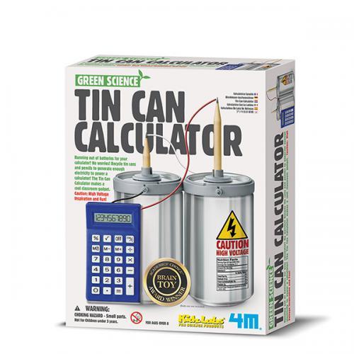 Tin Can Calculator (8+ years)