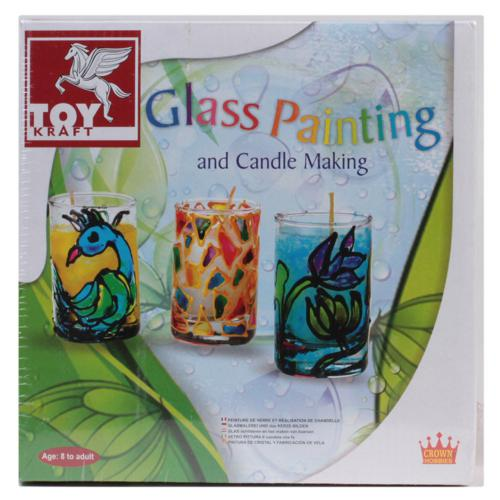 Glass Painting & Candle Making (8+ years)