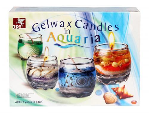 Gelwax Candles Aquaria (8+ years)