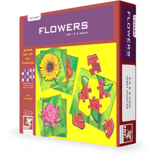 Flowers Puzzle(3 years and above)