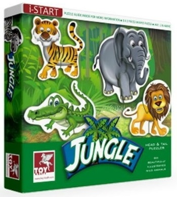 Jungle Puzzle (2 and Above)